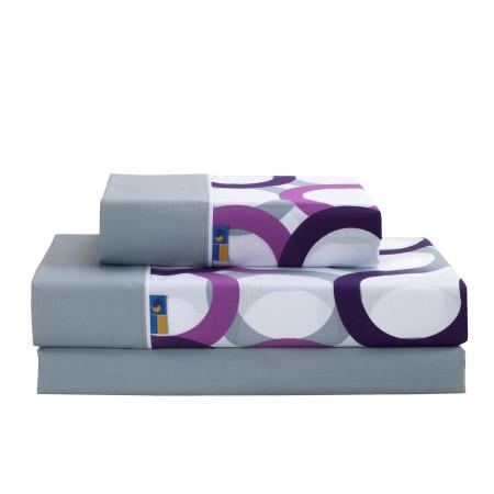 Juego de sábanas estampadas Aros