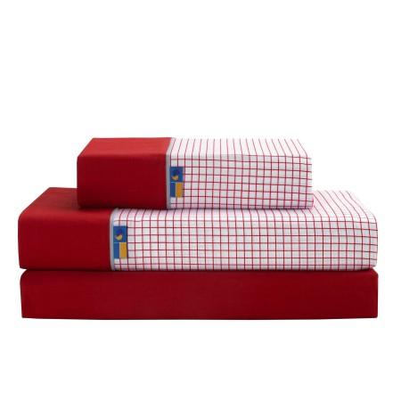 Juego de sábanas Combo Rojo