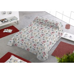 Colcha estampada Dogs