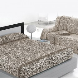 Plaid Multiusos Leopardo (Disponible en varios tamaños)