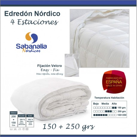 EDREDON NORDICO DUO 4 ESTACIONES