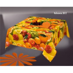 Mantel Antimanchas Fruit 3012